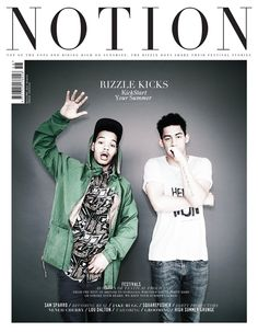 Notion 058 - Cover 2: Rizzle Kicks