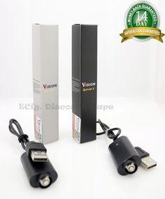 Authentic V. Spinner V2 Battery 1650mAh VV Variable Voltage Twist 3.3V to 4.8V  #VisionSpinnerV2