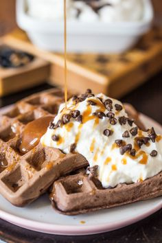 Waffles, Pancakes, Cake Cookies, Breakfast Recipes, Sandwiches, Muffin, Food And Drink, Sweets, Foods