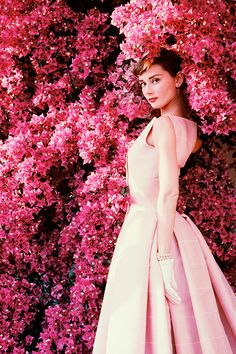 Audrey Hepburn photographed by Norman Parkinson c. 1955. Timeless.