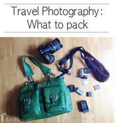 Travel photography-what to pack via Click it Up a Notch