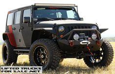 2015 Jeep Wrangler Regency Baja Extreme Body Armor Showcase Listing