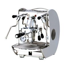 Isomac Mondiale Coffee Machine Handmade in Italy, the commercial grade Isomac Mondiale espresso machine is made exclusively from stainless steel and is built to last. It is suitable for any office, commercial or any workplace for that matter. Espresso Coffee Machine, Cappuccino Machine, Coffee Maker, Coffee Equipment, Great Coffee, Small Office, Barista, Kitchen Appliances, Stainless Steel