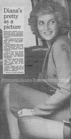 Our Princess Diana News Article Today The Man Who Knew