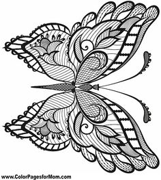 341 best COLORING BOOK : BUTTERFLY / PAPILLON / BORBOLETA ...
