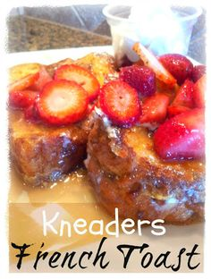 Kneader's French Toast is one of our favorite breakfasts! Make your own at home with this delicious french toast breakfast recipe. Kneaders French Toast Recipe, Breakfast Dishes, Breakfast Recipes, Breakfast Ideas, Sunday Breakfast, Yummy Treats, Yummy Food, Cream Recipes, Brunch Recipes