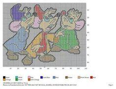 Cinderella's boy mice Cinderella Crafts, Cinderella Mice, Cinderella And Prince Charming, Plastic Canvas Crafts, Plastic Canvas Patterns, Tissue Box Covers, Tissue Boxes, Disney Crafts, Beading Patterns