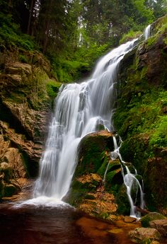Kamienczyk Waterfall (Szklarska Poręba, Poland).... Where I spent many of my vacations as a child:)))