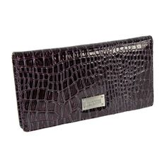 #Kenneth #Cole Faux Leather Checkbook Organizer #Wallet   cute   http://amzn.to/HLQSVS