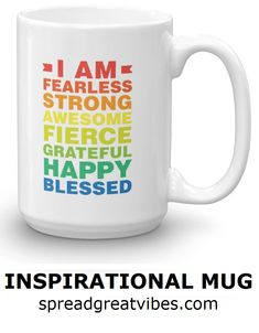 I am fearless - mug Diy Gifts, Unique Gifts, Great Gifts, Gifts For Friends, Gifts For Him, Clean Jokes, Grandpa Gifts, Cute Mugs, New Job
