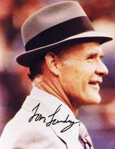 The Legend!  The greatest coach ever!  Tom Landry was a class act!