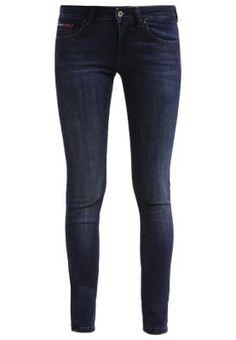 Hilfiger Denim LOW RISE SKINNY SOPHIE - Jeans Skinny Fit - dark-blue denim - Zalando.be