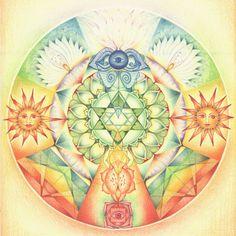 Mandala's tekenen met Hannie de JongPicture 53 « | Mandala's