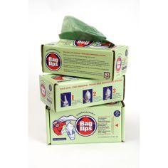 BagUps take ou the trash, re-line the can in one easy step! These 100% oxo-biodegradable and recycled trash bags are easy on the environment and a real time saver too! 17 bag per box