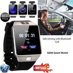 DZ09 Smart Watch для Apple Android Телефон Поддержка SIM TF Релох Inteligente Smartwatch PK GT08 U8 Носимых Интеллектуальных Электроники Со