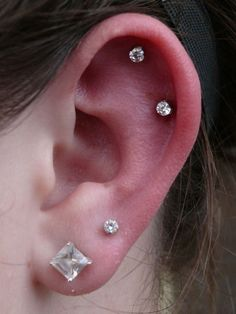 Ear piercings - Piercings oreille