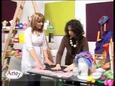 Cómo hacer fieltros para prendas con vellón - YouTube                                                                                                                                                      Más