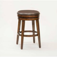 Hillsdale Beechland 30.5 Inch Backless Swivel Barstool (4515-830)