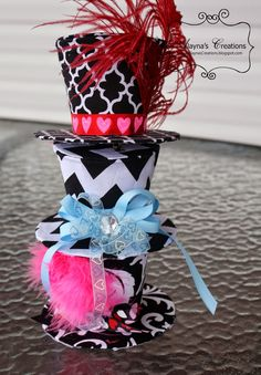 mad hatter hats diy - Google Search
