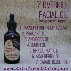 SEVEN OVERKILL 7 Rainforest oil mix 100% pure by RainforestChica