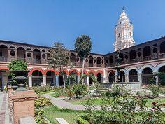 Santo Domingo Monastery cloister, Lima, Peru