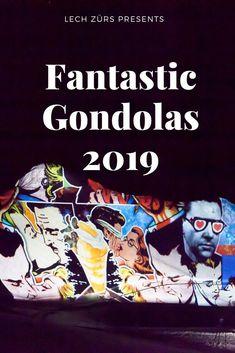Fantastic Gondolas – das einzigartige, preisgekrönte Festival wird zum Winteropener von Lech Zürs Presents, Comic Books, Comics, Cover, Movie Posters, Art, Gifts, Art Background, Film Poster