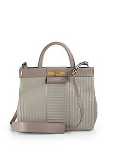 Marc by Marc Jacobs Madame Hilli Stitched Leather Shopper