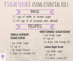 Sugar Scrubs- doTERRA
