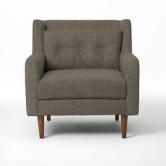 For the bedroom.  Crosby Armchair - Solids | west elm