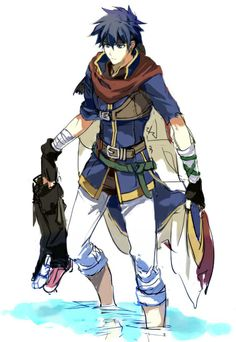 Ike< idk who this is but I love his ... Everything.