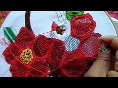 Bordado Fantasia-Proyecto XXXIII Agosto-Frutas-Lily Ocampo Bordados Mexicanos - YouTube