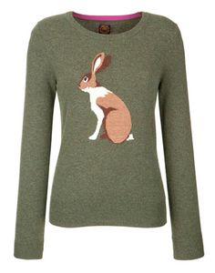 March Jumper (Joules) $109.00 #Rabbit #Sweater #Wishlist