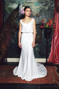 """Let me introduce you to """"Elizabeth""""! The most seductive dress from the Anna Georgina 2015 collection."""