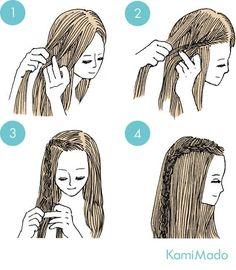 2015 Hairstyles, Sleek Hairstyles, Fringe Hairstyles, Hairstyles With Bangs, Girl Hairstyles, Asymmetrical Hairstyles, Layered Haircuts, Medium Hair Styles, Curly Hair Styles