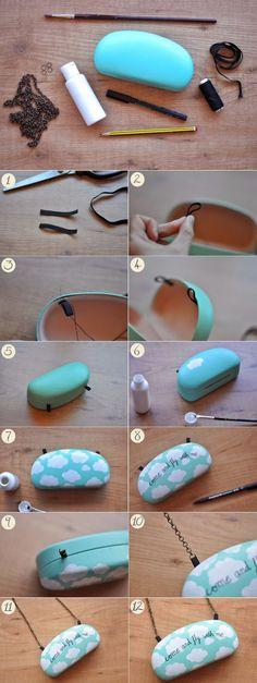 Как сделать клатч из большого очешника (Diy) / Сумки, клатчи, чемоданы / ВТОРАЯ УЛИЦА