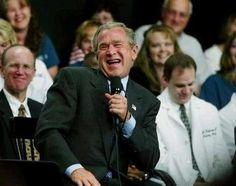 Funny Presidents President Bush