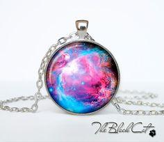 Orion Nebula pendant  Nebula  jewelry by TheBlackCatPendants, $12.95