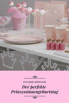 Braucht Ihr Ideen und Dekorationen für Euren Prinzessinnen Geburtstag? Dann schaut doch mal in unserem Shop und auf unserem Blog vorbei da findet Ihr alles für die perfekte Prinzessinnen Party.