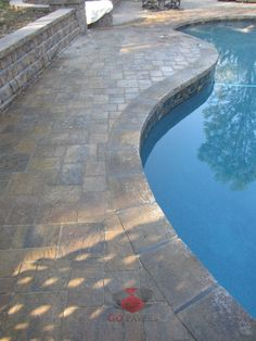 - traditional - pool - los angeles - Go Pavers Pool Pavers, Pool Landscaping, Belgard Pavers, Florida Pool, West Hills, Pool Coping, Pool Decks, Pool Houses, Outdoor Projects