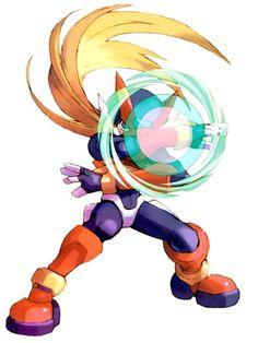 Zero - Characters & Art - Mega Man Zero 2, the artwork for this seires is amazing