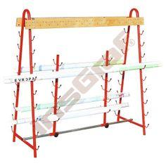 Stojan na 30 máp - červený Wardrobe Rack, Loft, Bed, Furniture, Home Decor, Decoration Home, Stream Bed, Room Decor, Lofts