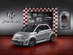 Abarth 695 'Record'    This customisation is inspired by the record-breaking cars that have written the history of Abarth racing, including the Abarth 750 Record Bertone. This car, created in 1956 after years of aerodynamic research, beat no fewer than 10 world records on the Monza racetrack, including the '72 hour' record, when it travelled 10,125.26 km.