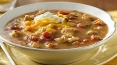A slow-cooked no-fuss chicken soup.  Perfect if you love Mexican cuisine.