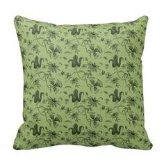 flower pattern green throw pillows http://www.zazzle.com/flower_pattern_green_throw_pillows-189909571873316798?utm_content=bufferc7fd9&utm_medium=social&utm_source=pinterest.com&utm_campaign=buffer #pillows #ornatepattern