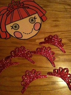 Lalaloopsy Birthday Jewels or Pin the eye cover on by ljarvis13, $10.00