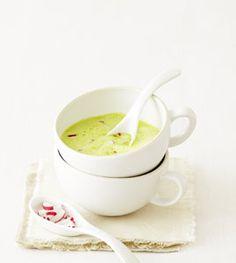 Radieschenblatt-Cremesuppe