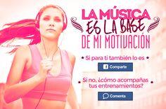 La música es la base de mi motivación