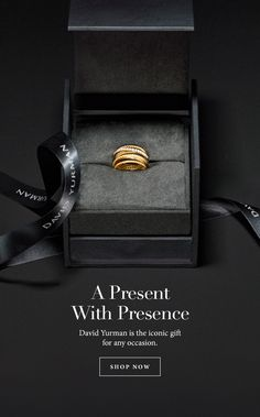 David Yurman: Treat Yourself to Gifts on Everyone's List Jewellery Advertising, Jewelry Ads, Jewelry Packaging, Photo Jewelry, Jewelery, Jewelry Design, Watches Photography, Jewelry Photography, Object Photography