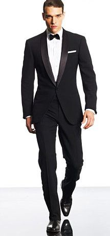 Ralph Lauren Black Label Anthony Shawl-Collar Tuxedo