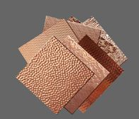 Decorative Sheet Metals From Quickshipmetals Com Copper Backsplash Herringbone Backsplash Copper Sheets